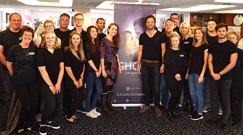 October 2015: Leigh Operatic & Dramatic Society Ghost the Musical