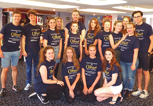 August 2016: Palace Theatre Summer Youth Project: Oliver!