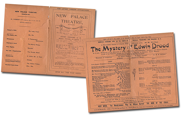 The Mystery of Edwin Drood, presented by the Southend Dickens Fellowship (January 1920)