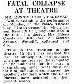 Real-life drama in February 1947: The Show Must Go On!