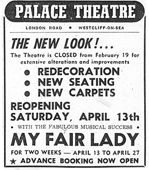 Spring 1968: A major refurbishment