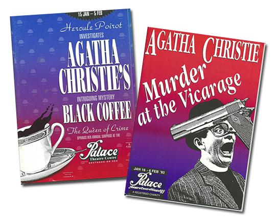 Agatha Christie murder mysteries