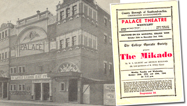 Palace Theatre August 1949