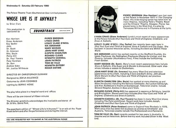 Pierce Brosnan Programme