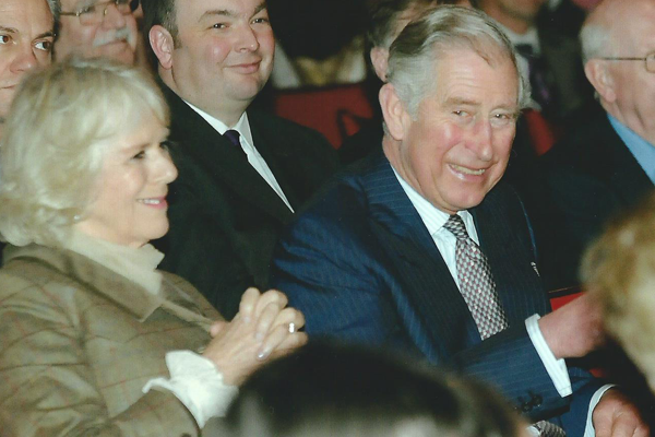 Prince of Wales visit