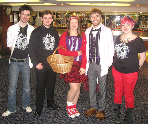 February 2011 Dark Waters Theatre Group Little Red Riding Hood