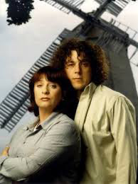 With Alan Davies, in Jonathan Creek
