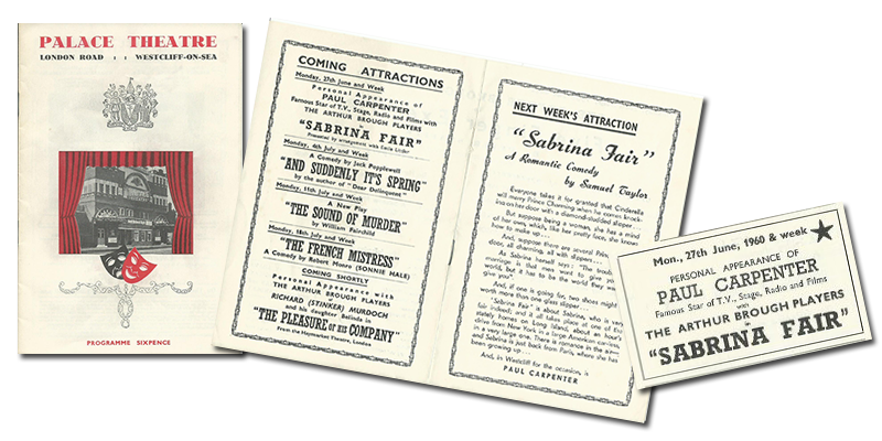 Forthcoming attraction: Sabrina Fair