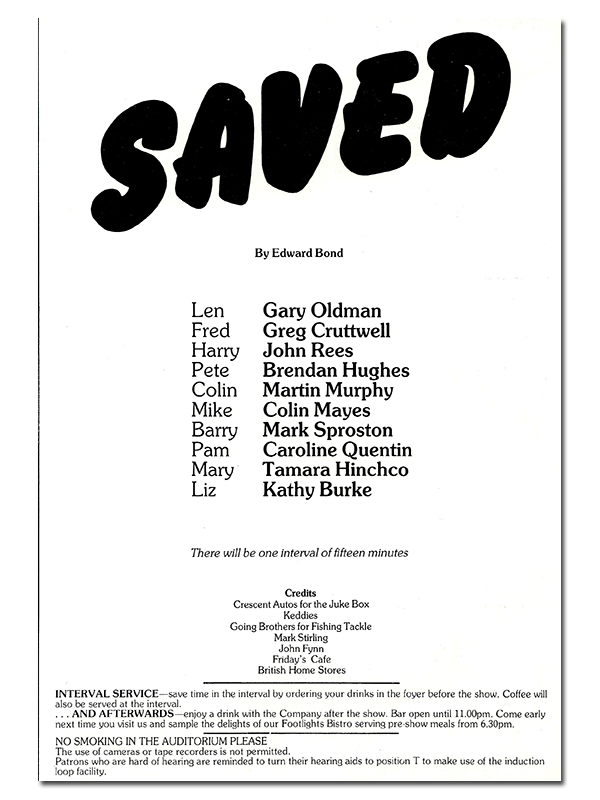 Saved-programme