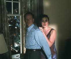 With Bruce Willis in a tense scene from The Sixth Sense