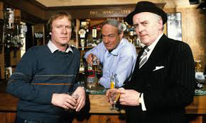 Minder: Glynn Edwards flanked by Dennis Waterman and George Cole