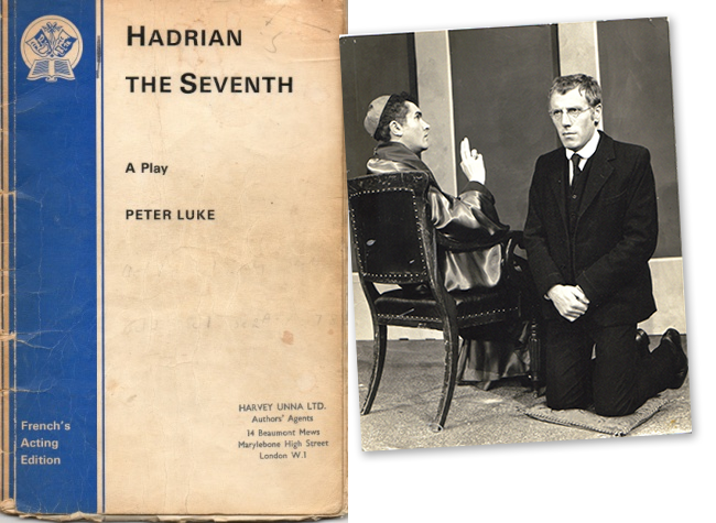 Adrian Reynolds and John Hughes in Hadrian the Seventh