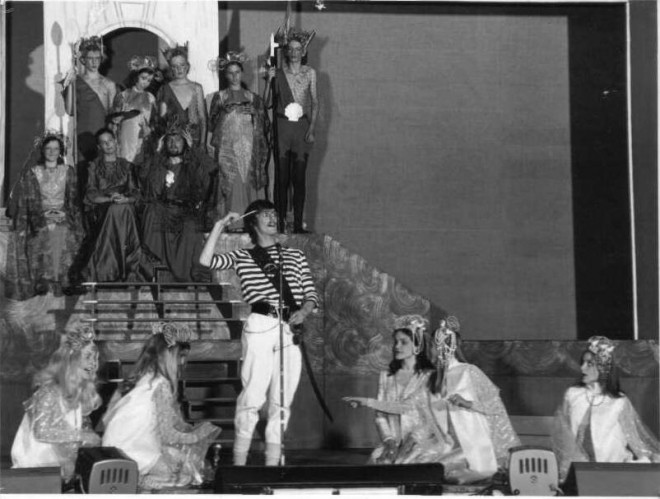 As Bill Barnacle in a Ridley Studio Production of The Little Mermaid at The Cliffs Pavilion