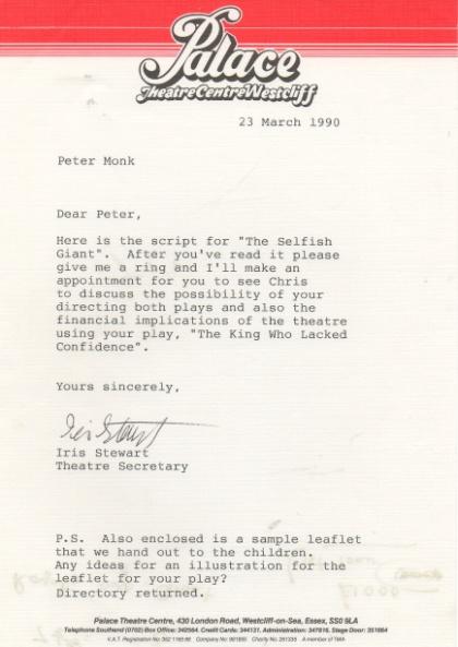 selfish-giant-letter